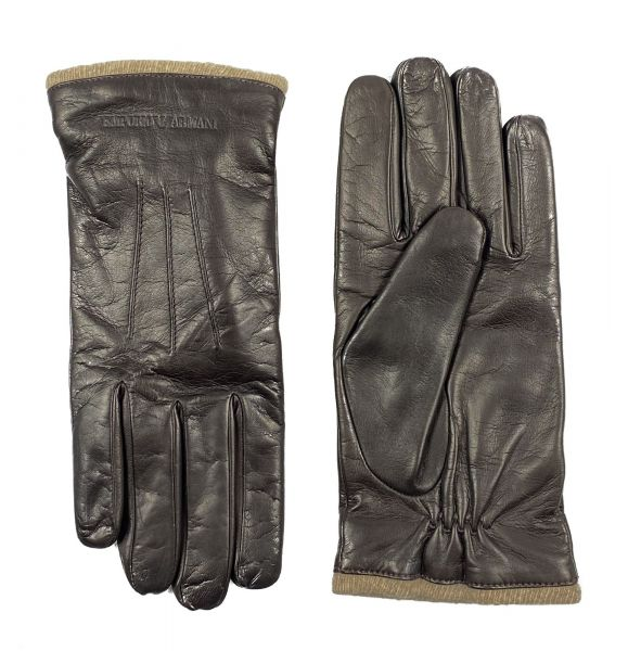 Emporio Armani Gloves - Dark Brown