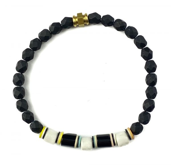 Kaoss Bracelet - Black/White