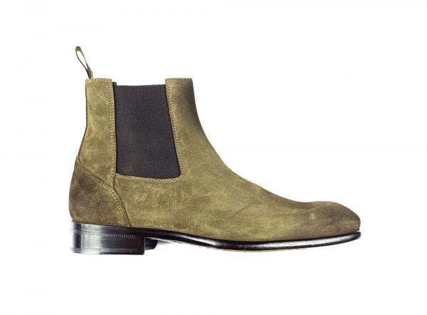 Doucal's Chelsea Boot - Beige