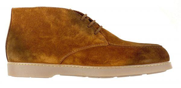 Doucal's Low Top Shoe - Cognac