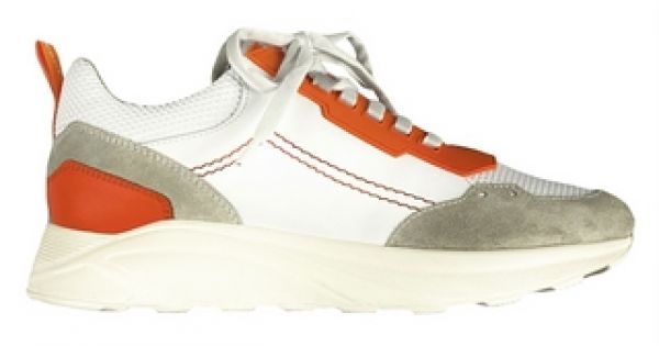 Jacob Cohen Sneaker - White/Orange