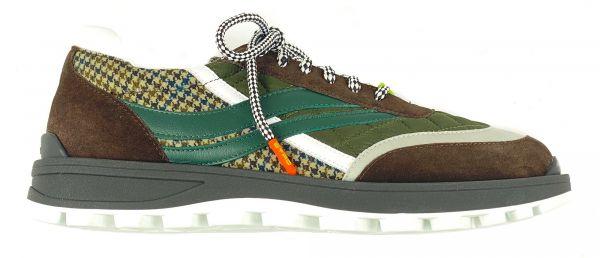 Etro Running Sneaker - Brown/Green