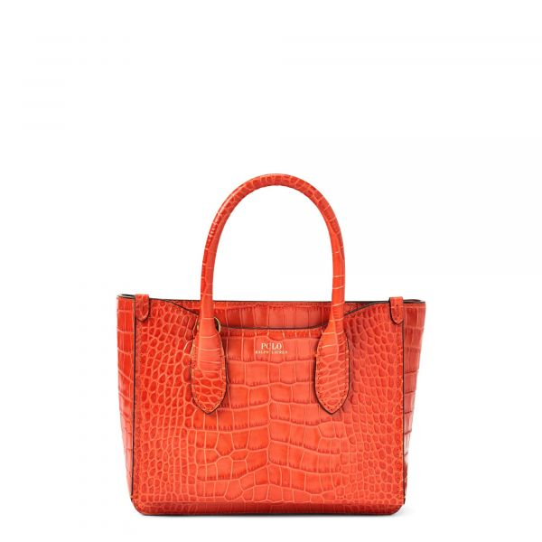 Polo Ralph Lauren Mini Sloane Satchel - Persimmon