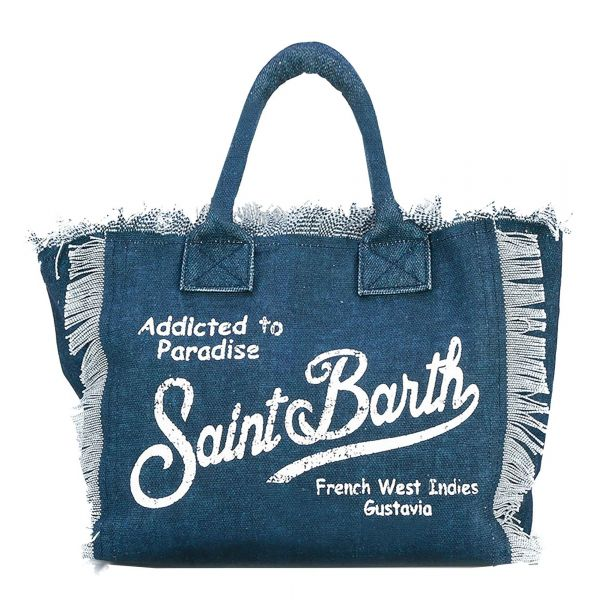 MC2 Saint Barth Canvas Strandtas - Indigo