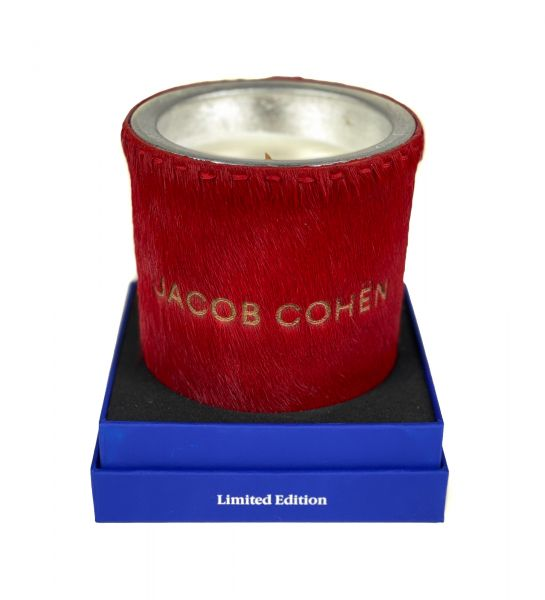Jacob Cohen Scented Soy Candle  -  Red