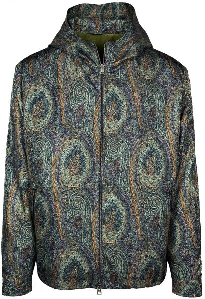 Etro BenEtroEssere  Paisley Jacket - Green