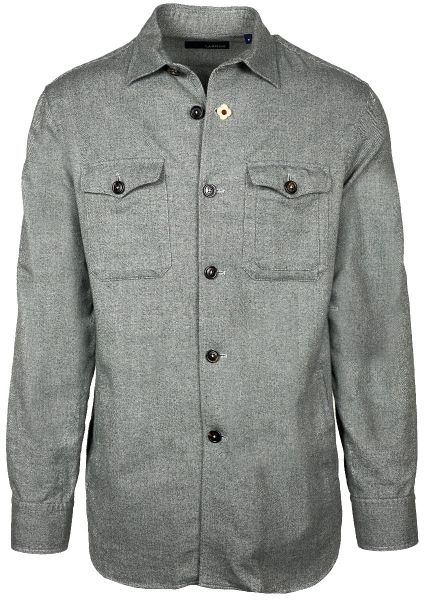 Lardini Overshirt - Grey