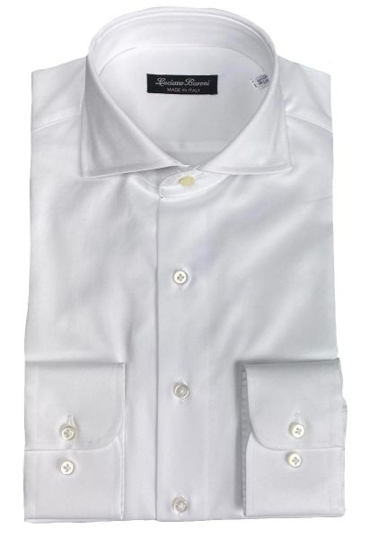 Luciano Baroni Shirt Planet - White