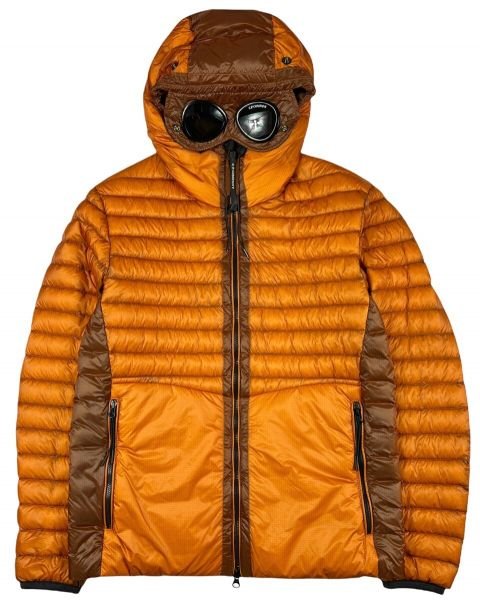 C.P. Company Direct Down Goggle Jacket - Desert Sun