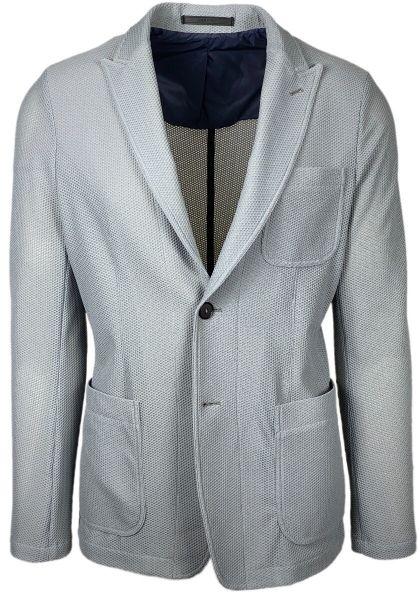 Giorgio Armani Jersey Blazer Icon - Grey