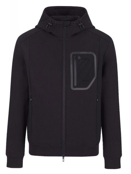 Emporio Armani Travel Essentials Hooded Zip - Black