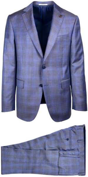 Pal Zileri Suit - Violet Blue