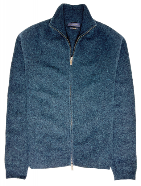 Daniele Fiesoli Merino-Wool Cardigan - Dark Blue