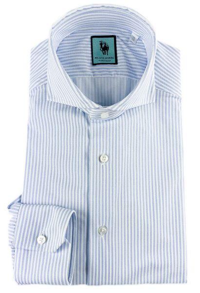 Xacus 520 Active Stretch Shirt - White/Blue