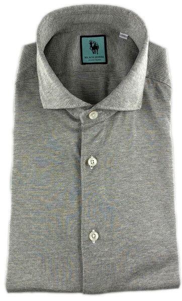 Xacus Luxury Stretch Shirt - Light Grey