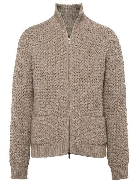 Lardini Knitted Cardigan - Beige