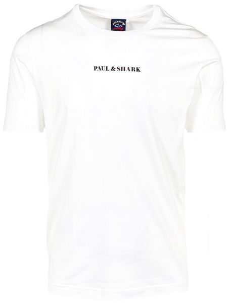 Paul & Shark Logo T-Shirt - White