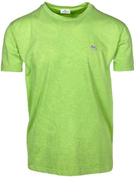Etro T-shirt Paisley Print - Green
