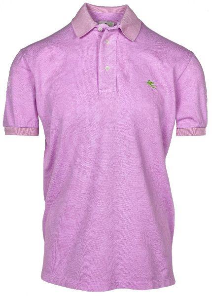 Etro Poloshirt Paisley Print - Pink