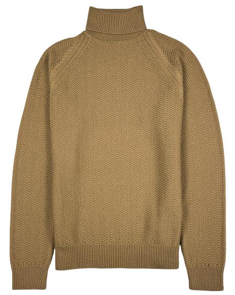 Jacob Cohen Knitted Turtleneck - Camel