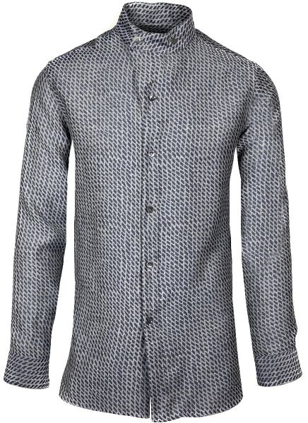 Giorgio Armani Shirt Fancy - Grey/Blue