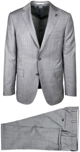 Pal Zileri Suit - Grey Checkered