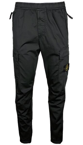 Stone Island Slim-Fit Cargo Pant - Black