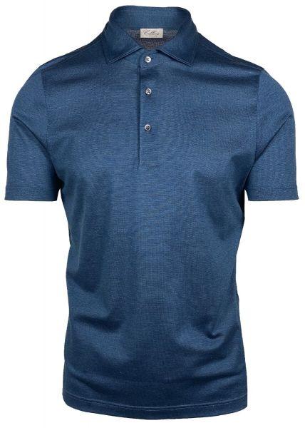 Cellini Polo Short Sleeve - Blue