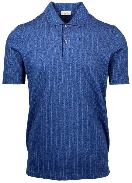 Cellini Poloshirt - Blue Striped