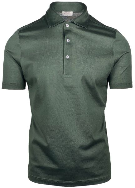 Cellini Polo Short Sleeve - Dark Green