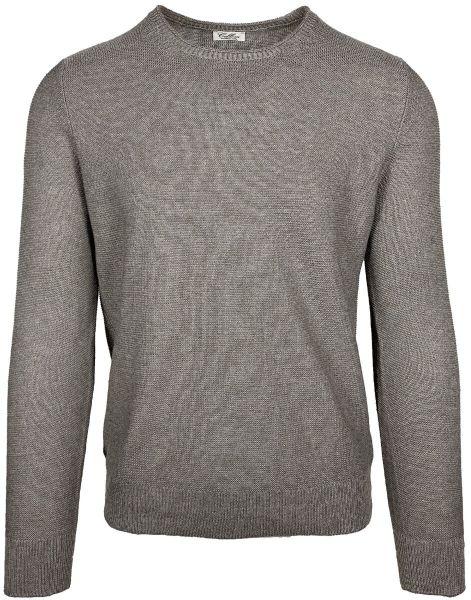 Cellini Linen/Cotton Crewneck - Taupe