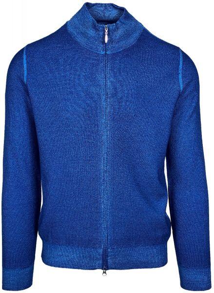 Cellini Virgin Wool Cardigan - Electric Blue