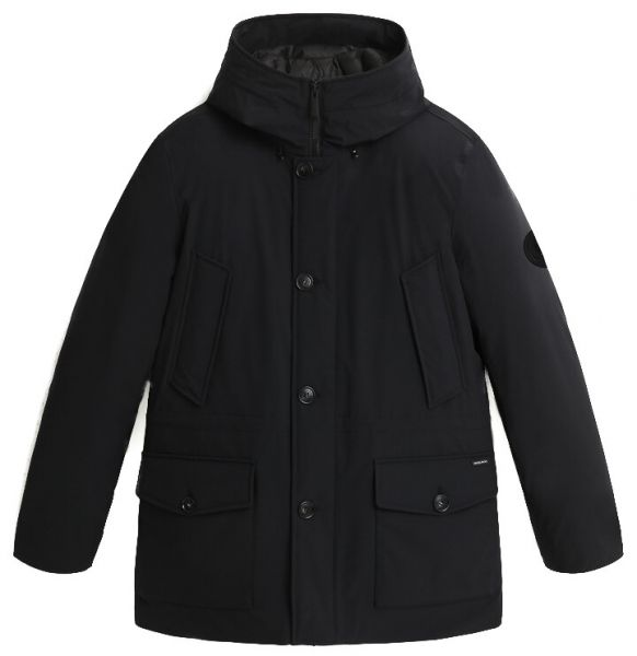 Woolrich Arctic Stretch Parka With Graphene Padding - Black