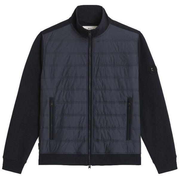 Woolrich Full Zip Track - Melton Blue