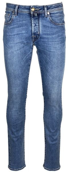 Jacob Cohen Jeans - Bard - Slim Fit - Blue Used