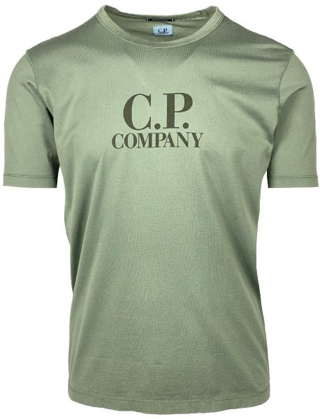 C.P. Company Logo T-Shirt - Green