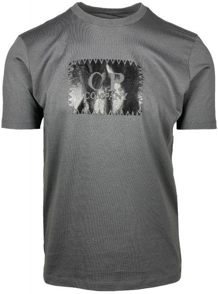 C.P. Company Logo T-Shirt - Gargoyle