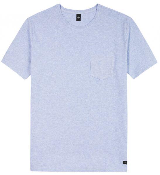 Wahts Dean T-Shirt - Light Blue Melange