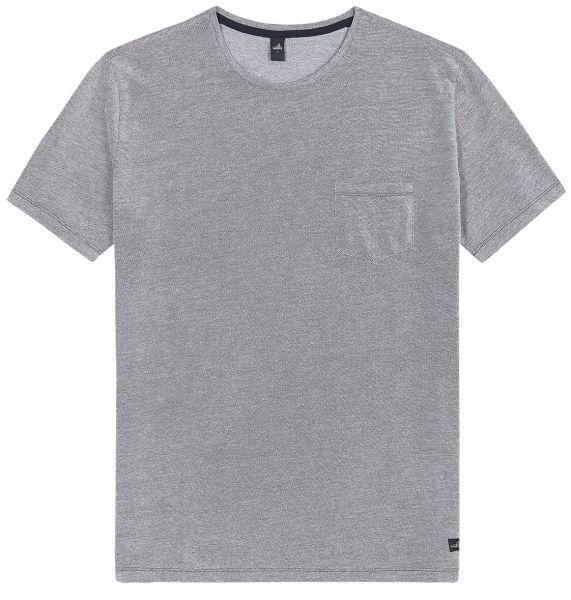 Wahts Dean T-Shirt - Navy/White Melange