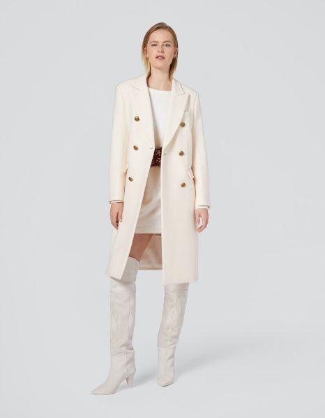 Dondup Overcoat - Off White