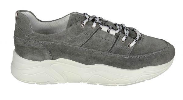 Doucals Suede Sneaker - Grey