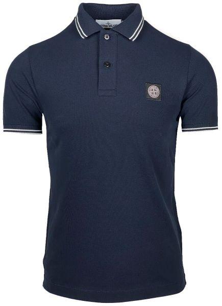Stone Island Poloshirt - Navy Blue