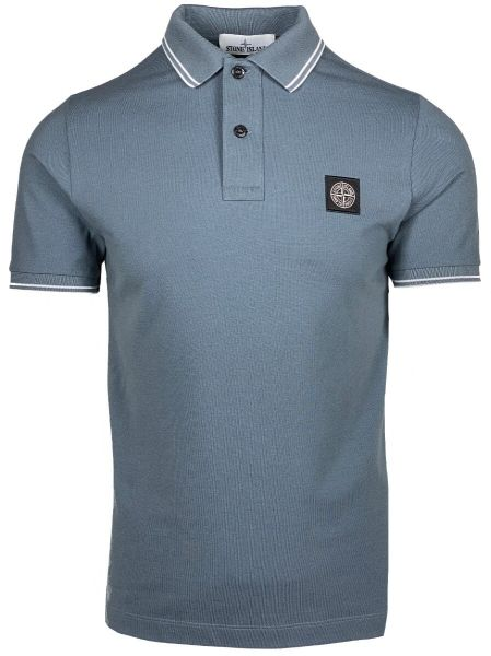 Stone Island Poloshirt - Mid Blue
