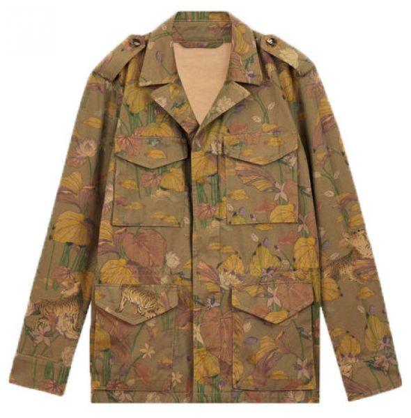 Etro Cotton Safari Jacket - Green