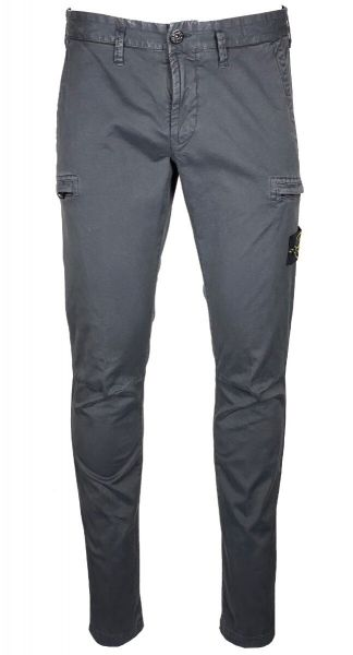Stone Island Skinny Cargo Pants - Charcoal