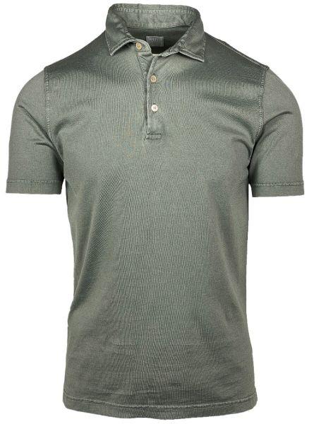 Fedeli Jersey Polo - Green