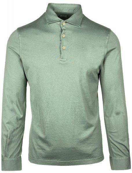 Fedeli Jersey Polo Long Sleeve - Green