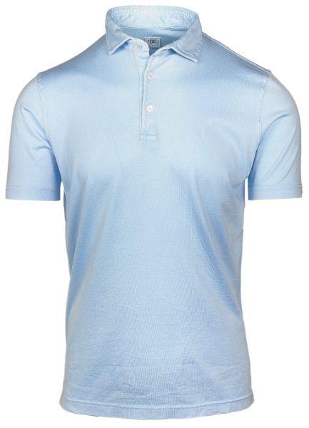 Fedeli Jersey Polo - Light Blue