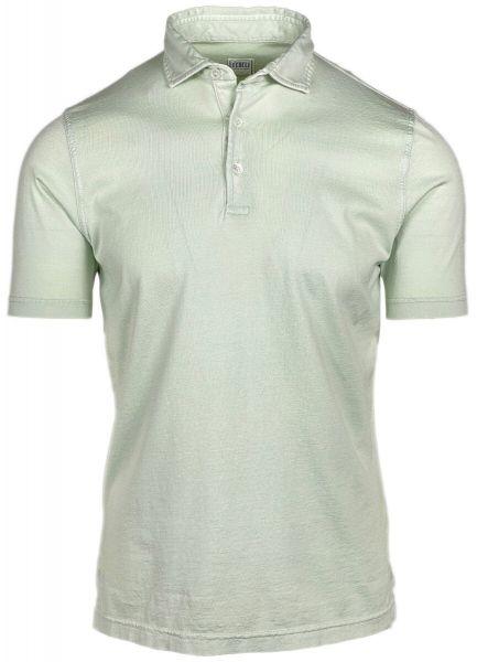 Fedeli Jersey Polo - Light Green