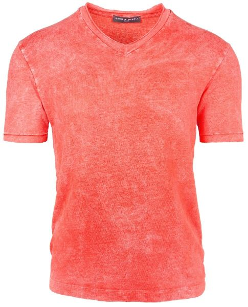 Daniele Fiesoli V-Neck T-Shirt - Orange